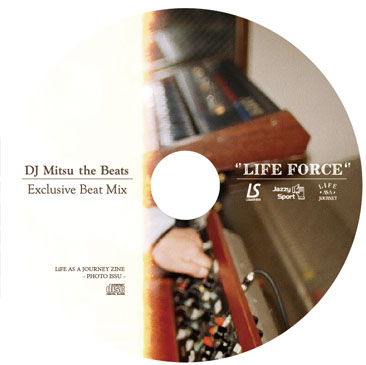 LUZeSOMBRA Title : LiFE AS A JOURNEY ZINE-photo issue-  with MIX CD/MIXED BY DJ MITSU THE BEATS