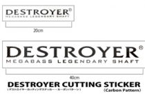 NEW DESTROYER STICKER (20cm & 40cm)