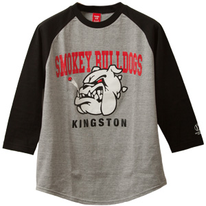 KINGSTON SMOKEY BULLDOGS Black/Grey 7UNION