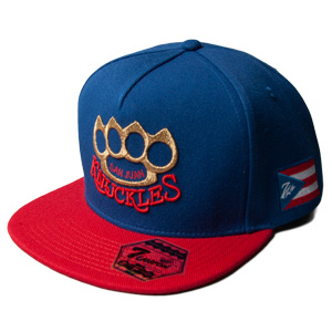SAN JUAN KNUCKLES Blue/Red 7UNION