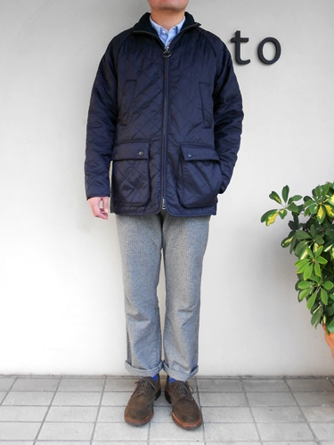 Barbour À�バブアー】 New Polar Quilt Sl Men S À�nauta Á�ゆた 215