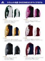 アディダス(adidas) スウェット丸首 OHZONEカスタマイズモデル(カラー【01】)
