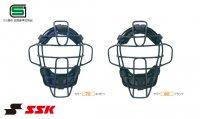 エスエスケイ(SSK) 硬式マスクスロートガード一体型(カラー【70】ネイビー)