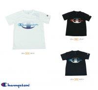 Champion(チャンピオン)ジュニアTシャツ(カラー【090】ブラック)