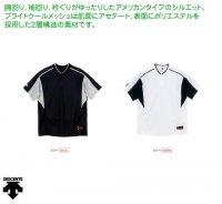 デサント   コンビネーションTシャツ(カラー【SWBK】)