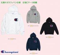 Champion(チャンピオン) プルオーバーフーデッドスウェットシャツ (カラー【370】ネイビー)