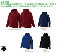 デサント(DESCENTE) フリースジャケット (カラー【BLK】ブラック×Sゴールド)