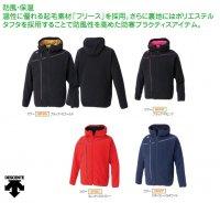 デサント(DESCENTE) フリースジャケット (カラー【BKSG】ブラック×Sゴールド)