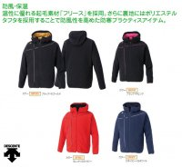 デサント(DESCENTE) フリースジャケット (カラー【BKPK】ブラック×Pピンク)
