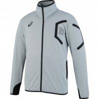 アシックス(asics) トレーニングジャケット (カラー【11M】ミディアムシルバー杢)