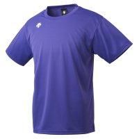 デサント(DESCENTE) ワンポイントハーフスリーブシャツ (カラー【PPL】パープル)