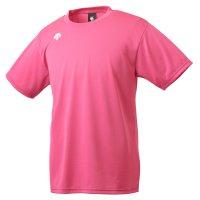デサント(DESCENTE) ワンポイントハーフスリーブシャツ (カラー【PNK】ピンク)