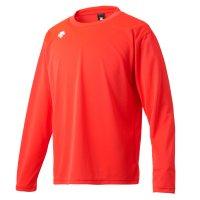 デサント(DESCENTE) ワンポイントロングスリーブシャツ (カラー【ORG】オレンジ)