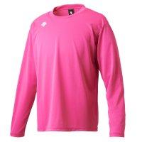 デサント(DESCENTE) ワンポイントロングスリーブシャツ (カラー【PNK】ピンク)