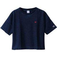 Champion(チャンピオン) レディース リバースウィーブTシャツ (カラー【330】インディゴ)