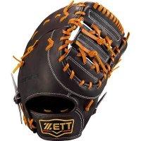 ゼット(ZETT)プロステイタス 硬式ミット(一塁手用)(カラー【3736】ブラウン×オークブラウン)