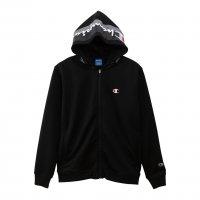 Champion(チャンピオン) ジップフーデッドジャケット (カラー【090】ブラック)