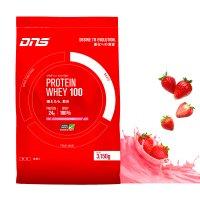 DNS プロテインホエイ100 【S】イチゴミルク風味 3150g