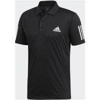 アディダス(adidas)ポロシャツ(カラー【DU0848】ブラック/ホワイト)