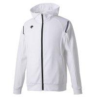 デサント(DESCENTE)トレーニングジャケット(カラー【WHT】ホワイト×ブラック)