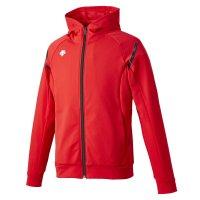 デサント(DESCENTE)トレーニングジャケット(カラー【RED】レッド×ブラック)