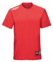 ローリングス(Rawlings)Tシャツ ( カラー 【RW】レッド/ホワイト)
