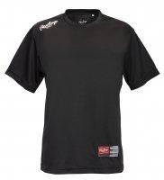 ローリングス(Rawlings)ウイメンズTシャツ ( カラー 【BW】ブラック/ホワイト)