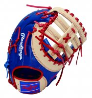 <img class='new_mark_img1' src='https://img.shop-pro.jp/img/new/icons1.gif' style='border:none;display:inline;margin:0px;padding:0px;width:auto;' />ローリングス(Rawlings)HOH MAJOR STYLE 軟式ミット(ファースト用) (カラー【RY/CAM】ロイヤル/キャメル)
