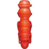 ゼット(ZETT)ソフトボール用レガーツ(カラー【6400】レッド)