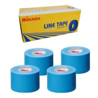 ミカサ(MIKASA)ラインテープ5cm幅 4巻入り(カラー【BL】青)