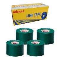 ミカサ(MIKASA)ラインテープ5cm幅 4巻入り(カラー【G】緑)