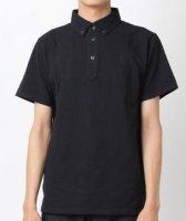 ニューバランス 鹿の子ドライポロシャツ(カラー【BK】ブラック)