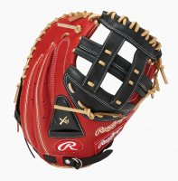 <img class='new_mark_img1' src='https://img.shop-pro.jp/img/new/icons1.gif' style='border:none;display:inline;margin:0px;padding:0px;width:auto;' />Rawlings(ローリングス) ソフト ハイパーテック レギュラーFIT(キャッチャー用)(カラー【SC/B】スカーレット/ブラック)
