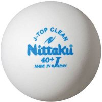 Nittaku(ニッタク) 8月1日発売!! Jトリップクリーントレ球  抗菌ボール 10打箱 【(W)ホワイト 】