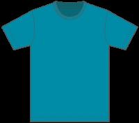 5,000円(税込)お買上げ毎に1点プレゼント! Tシャツ カラー【538】ターコイズブルー