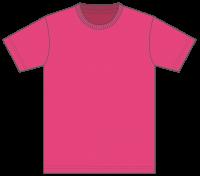 5,000円(税込)お買上げ毎に1点プレゼント! Tシャツ カラー【511】トロピカルピンク