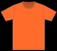 5,000円(税込)お買上げ毎に1点プレゼント! Tシャツ カラー【064】オレンジ