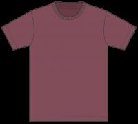 5,000円(税込)お買上げ毎に1点プレゼント! Tシャツ カラー【072】バーガンディ