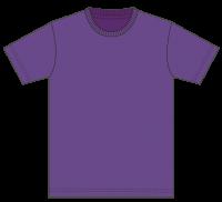 5,000円(税込)お買上げ毎に1点プレゼント! Tシャツ カラー【062】パープル