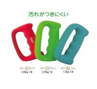 ウォーキングダンベル(ネオプレーンコーティング)(カラー【G】グリーン)