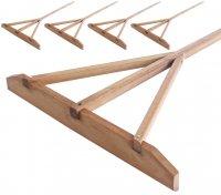 組立式木製レーキ(5本1組) 60cm