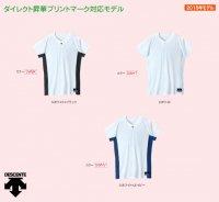デサント 1ボタンシャツ(カラー【SWBK】)
