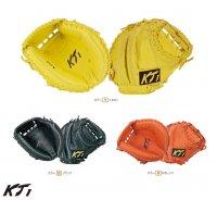 KT1 硬式ミット(捕手用)(カラー【R】Rオレンジ)