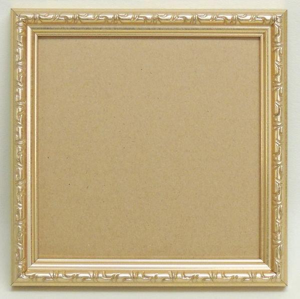 003型 ゴールド 150角 ガラス・箱付き額縁 アウトレット品