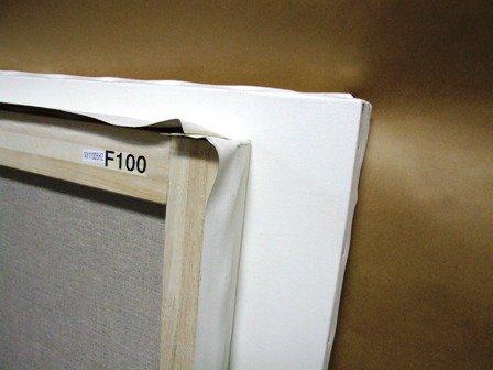 F100号張キャンバス(麻100%中目)2枚セット