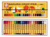 サクラ LP クレパス太巻 20色 ゴムヒモ付ケース