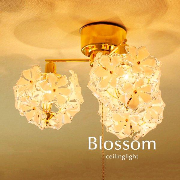 3灯シーリングライト アクリル 代引き不可 [Blossom]