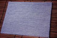 浅てつ 本染手拭<br>[刺子 ブルー]長さ1m