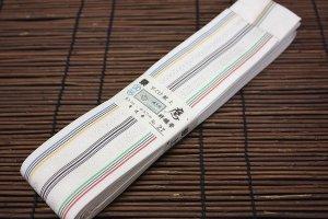 平ぐけ帯 正絹 (五輪)
