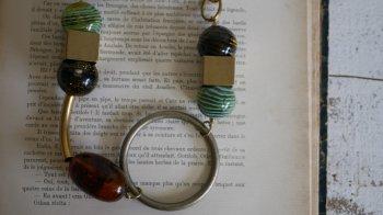 大ぶりリングのインパクトネックレス by Unaca